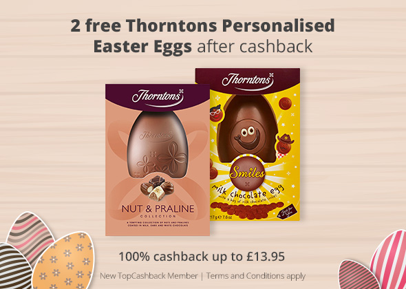 2 Free Personalised Easter Eggs From Thorntons Aft