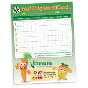 Free Fruit & Veg Reward Chart