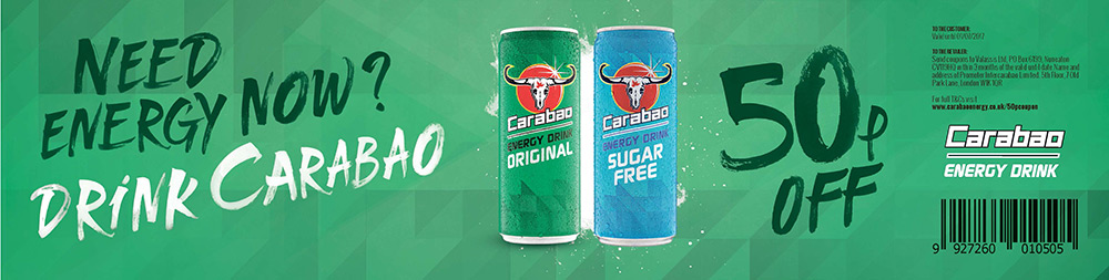 Carabao Energy Drink Coupon