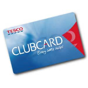 Free 500 Tesco Clubcard Points
