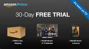 Free Amazon Prime 30 Day Trial