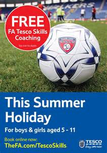 Free Tesco Football Coaching Sessions